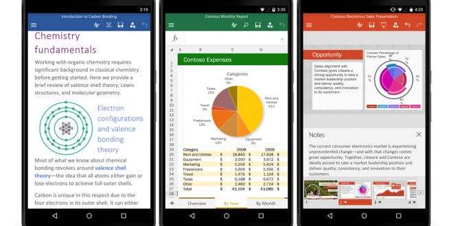 Office and OneDrive updated with new features for Android 1