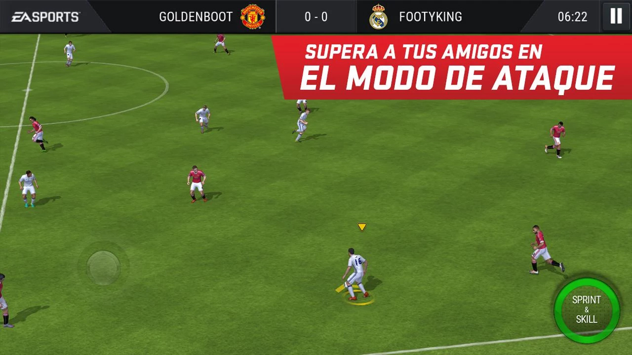 FIFA 17 disponible para Android como FIFA Mobile Football 1