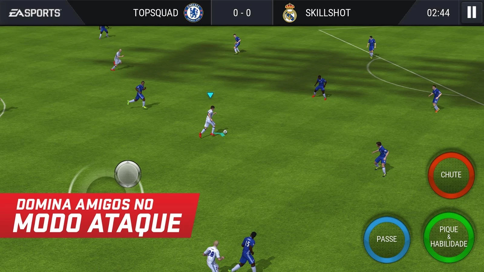 FIFA 17 disponivel para Android como FIFA Mobile Football 1