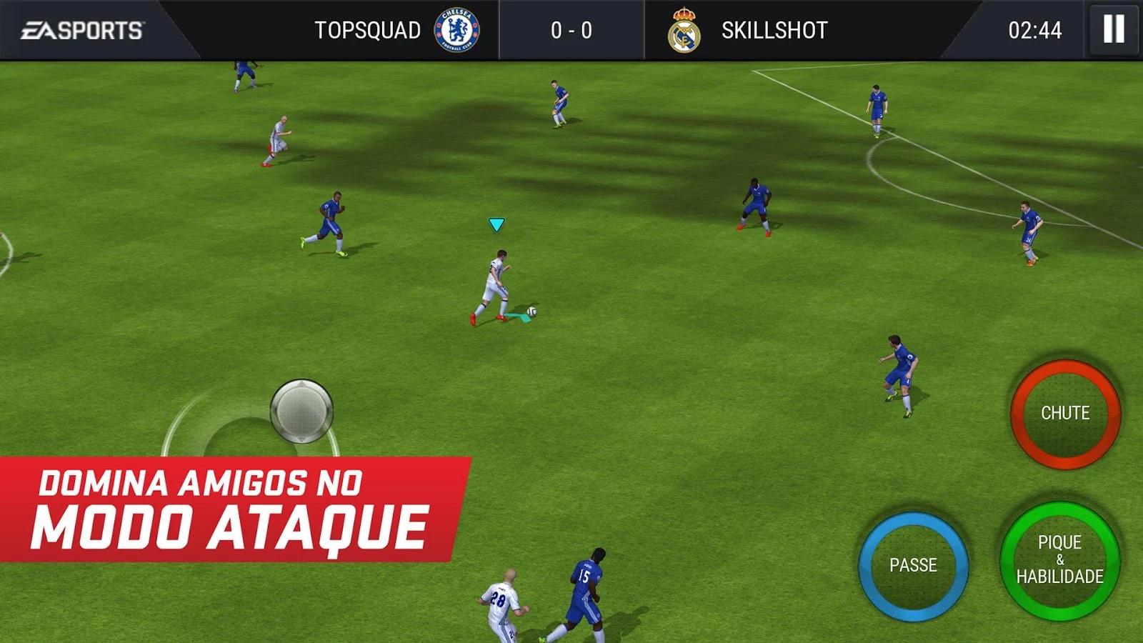 FIFA 17 disponivel para Android como FIFA Mobile Football 1