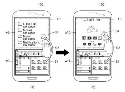 Samsung patenta un smartphone con Android y Windows Phone 1