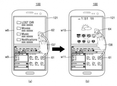 Samsung patented smartphone with Android and Windows 1