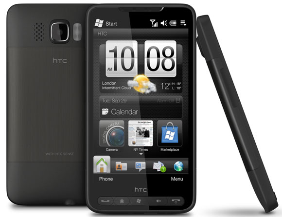 HTC HD2 (2009) recibe Android 7.0 Nougat 1