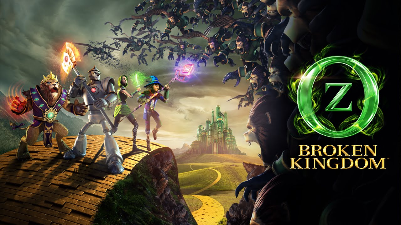 Oz Broken Kingdom debuta en dispositivos moviles con iOS y Android 1