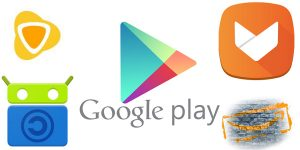 Alternatives to the Google Play Store to download apps