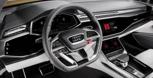 Audi and Volvo Android operating system cars