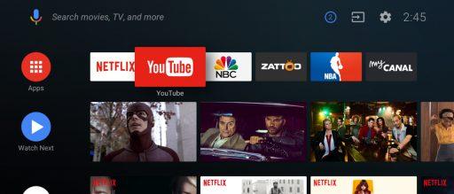 Google presenta el nuevo Android TV con Google Assistant 1