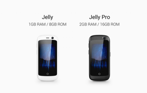 Jelly: The world's smallest 4G smartphone with Android Nougat 1