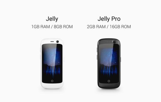Jelly: el smartphone 4G más pequeño del mundo con Android Nougat 1