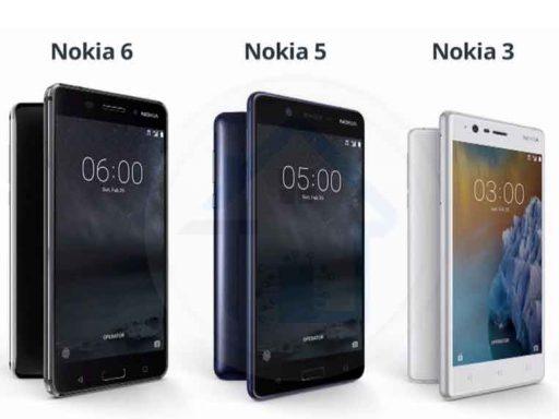 Nokia 3, 5 e 6 serão atualizados para o Android O 1